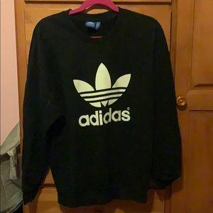 Adidas Trefoil Sweatshirt, M. great condition